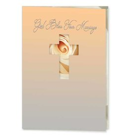 The Printery House God Bless Your Marriage Card
