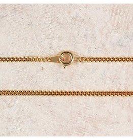 "McVan 18"" Medium Gold Plated Chain"