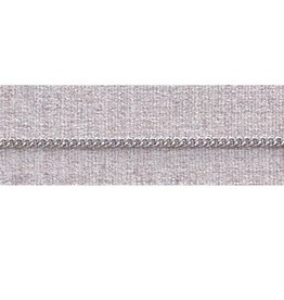 "McVan 20"" French Rope Rhodium Chain"