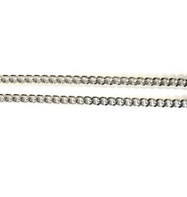 "McVan 24"" Infinity Chain Silver"