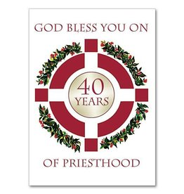 The Printery House God Bless You On 40 Years of Priesthood