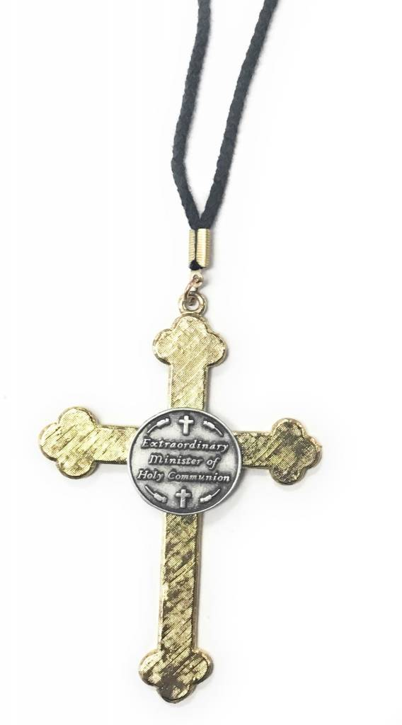 """Cathedral Art Extraordinary Minister 3"""" Cross on 30"""" Cord"""