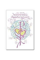 The Printery House On Your Wedding Anniversary Card