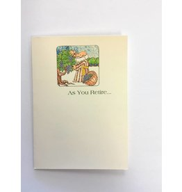 Life Greetings As You Retire Greeting Card