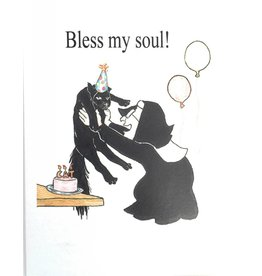 Life Greetings Bless my soul! Nuns Birthday Card