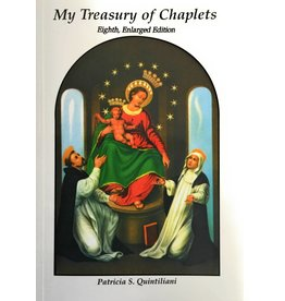 Religious Art Inc My Treasury of Chaplets: Eighth, Enlarged Edition