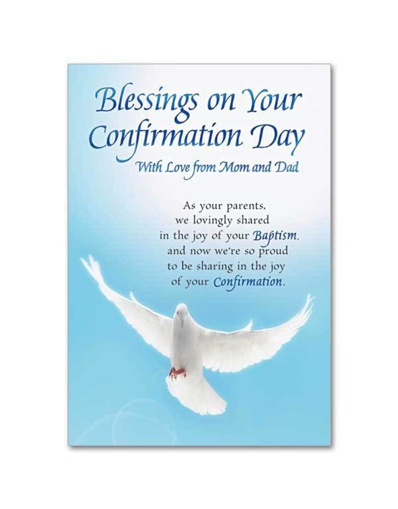 The Printery House Blessings On Your Confirmation Day Card