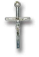 "WJ Hirten 1"" Oxidized Crucifix"