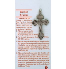 Pardon Crucifix with Card