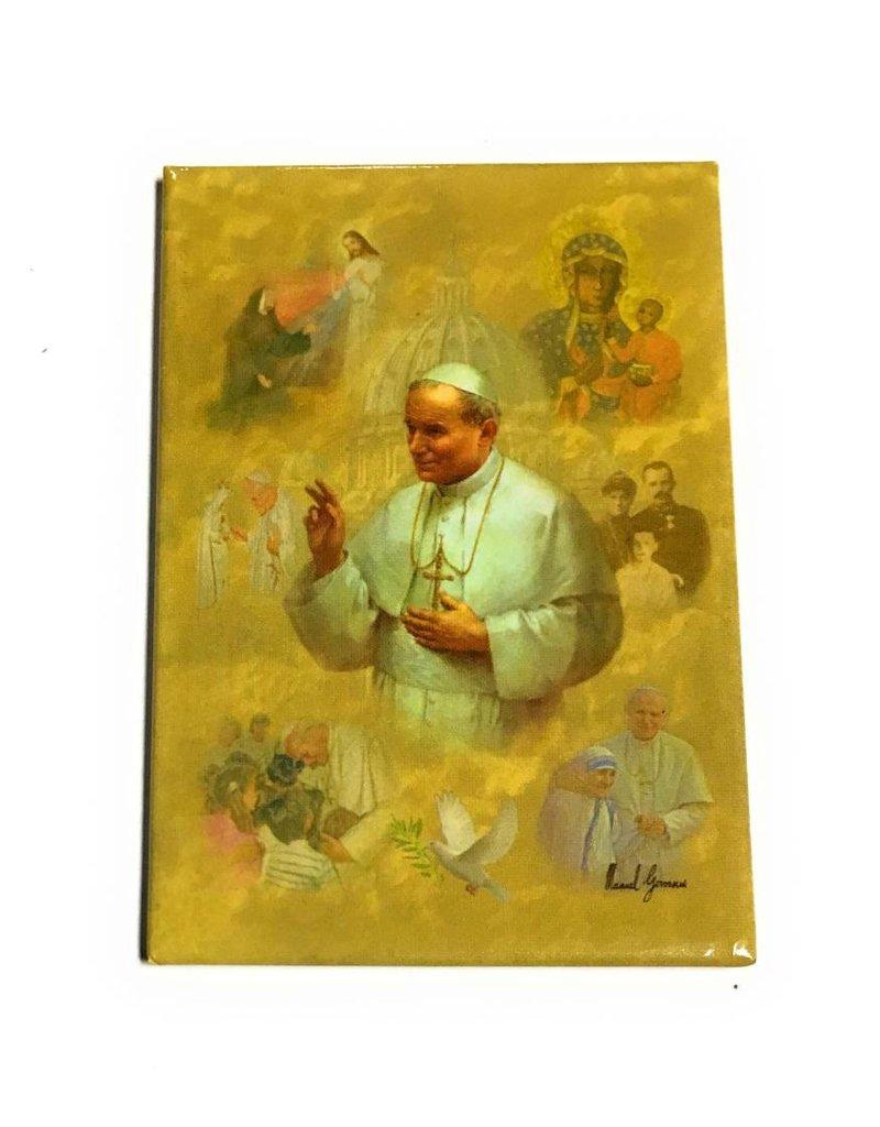 "WJ Hirten 2"" x 3"" St. John Paul II Magnet"