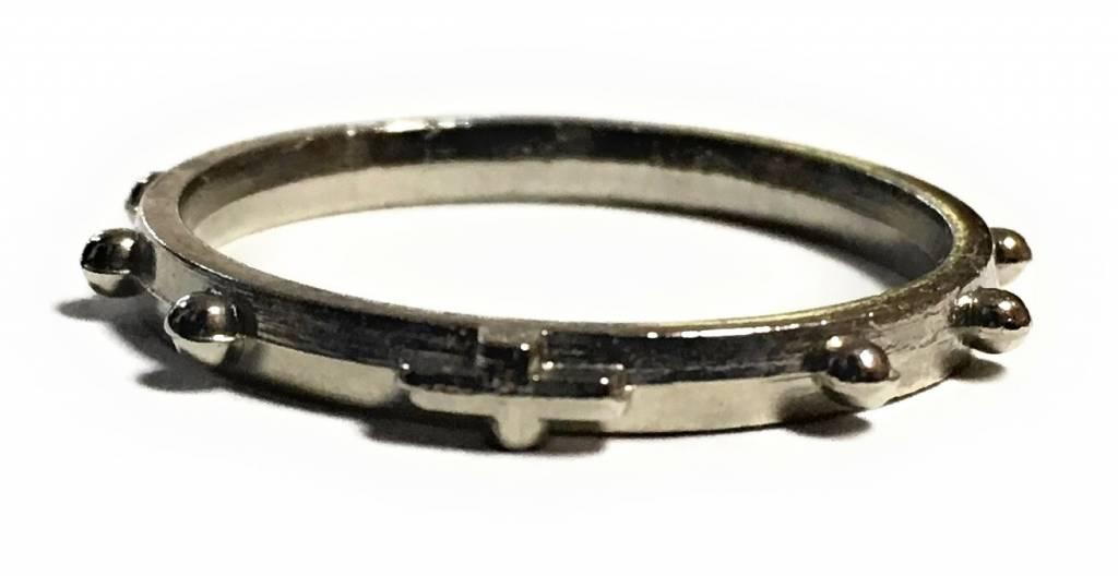 Simply Catholic Studded Rosary Ring (Finger Rosary)
