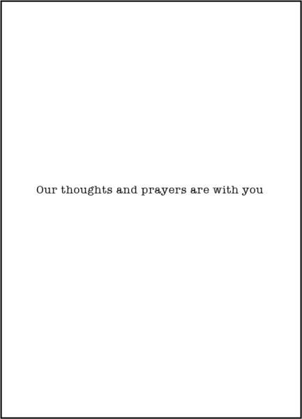 Pio Prints Earth has no sorrow that heaven cannot heal. St. Thomas More Sympathy Card