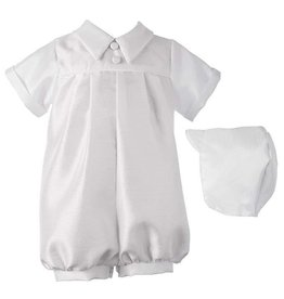 Lauren Madison Boy's Baptism Shorts Clothing Set [1200]