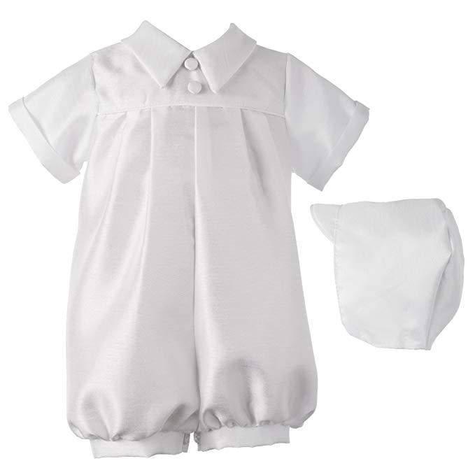Lauren Madison Boy's Baptism Shorts Clothing Set [1200]