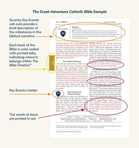 Ascension Press The Great Adventure Catholic Bible
