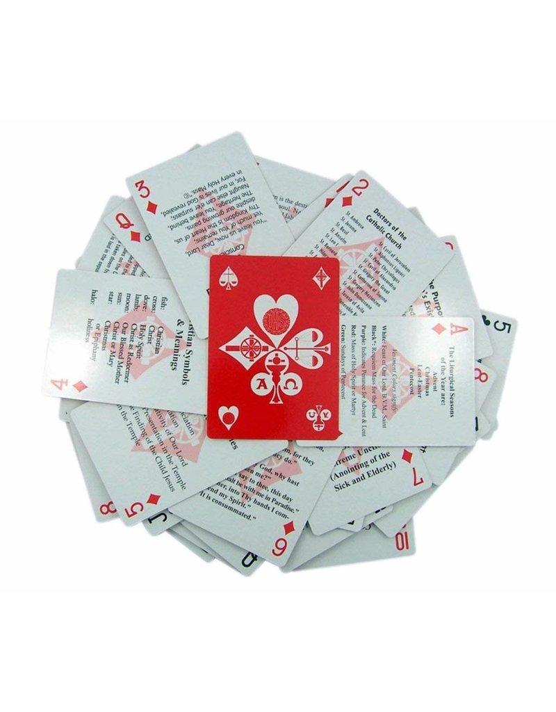 Devon Trading Company Catholic Doctrine Playing Cards