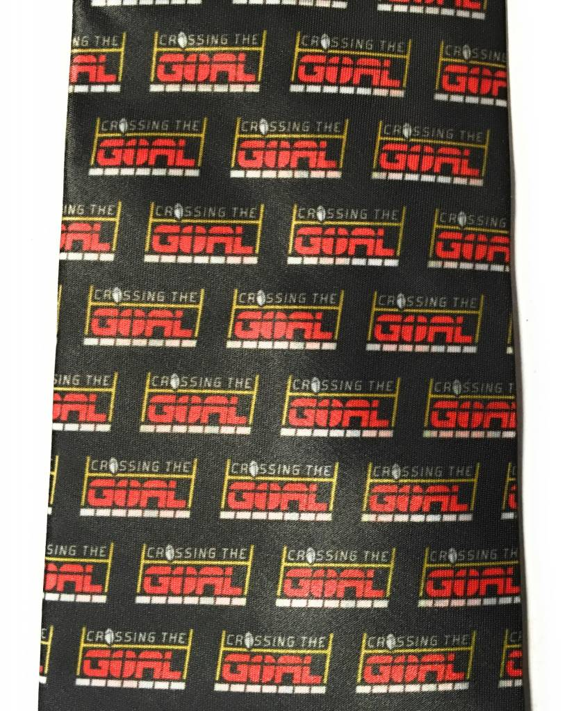 Catholic to the Max Crossing The Goal Pattern Tie