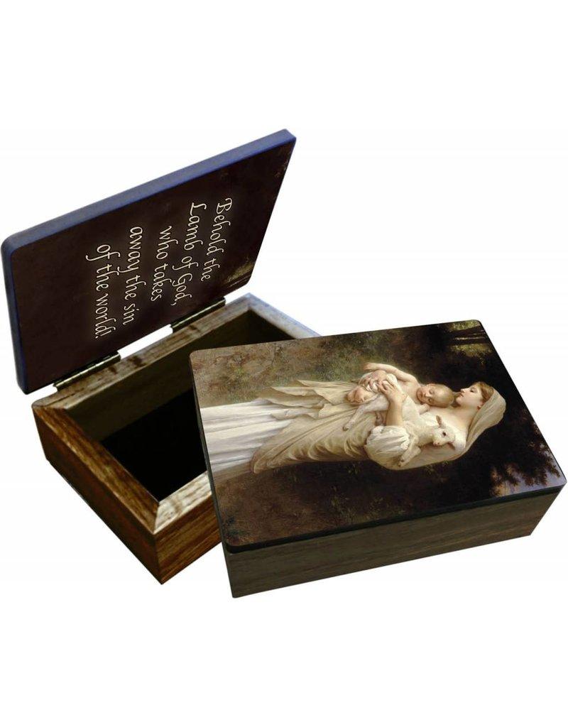 Nelsons Fine Art and Gifts L'Innocence Keepsake Box