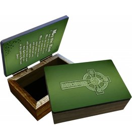 Nelsons Fine Art and Gifts Irish Blessing Keepsake Box