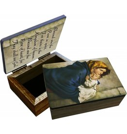 Nelson Fine Art Madonna of the Streets Keepsake Box