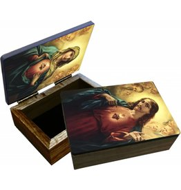 Nelson Fine Art Sacred or Immaculate Heart Keepsake Box