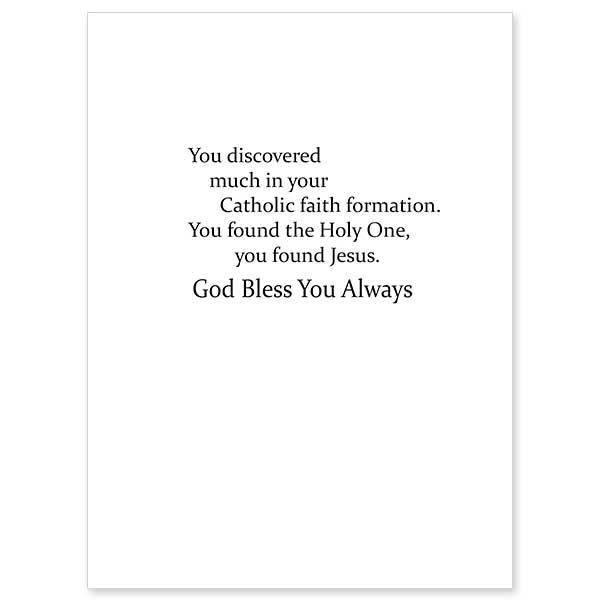 The Printery House As You Profess Your Faith RCIA Baptism Card