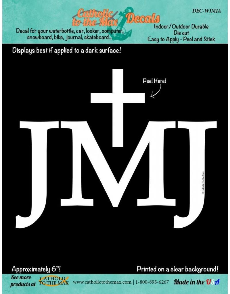 Catholic to the Max JMJ Decal