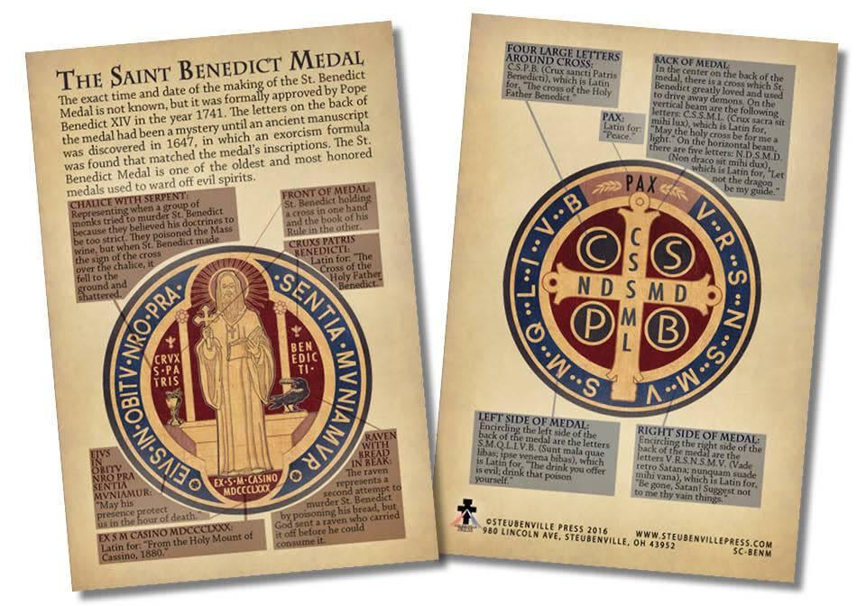 Nelson Fine Art St. Benedict Medal Explained