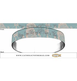 Catholic to the Max Mary I am Thine Metal Bracelet