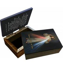 Nelson Fine Art Divine Mercy Keepsake Box
