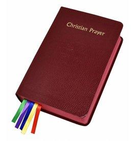 Catholic Book Publishing Corp Christian Prayer Burgundy (Liturgy of the Hours Single Volume)
