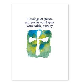 The Printery House Blessings of Peace and Joy RCIA Acceptance Card