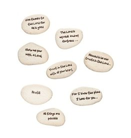 Roman, Inc Pocket Stones - Faith Stones (Single Stone, Assorted Type)