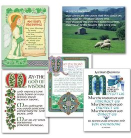 The Printery House Celtic Blessings Assorted Cards (10 Pack)