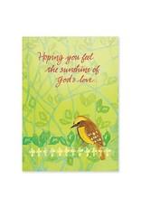 The Printery House Hoping You Feel the Sunshine of God's Love Birthday Card