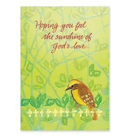 The Printery House Hoping You Feel the Sunshine of God's Love Birthday Card