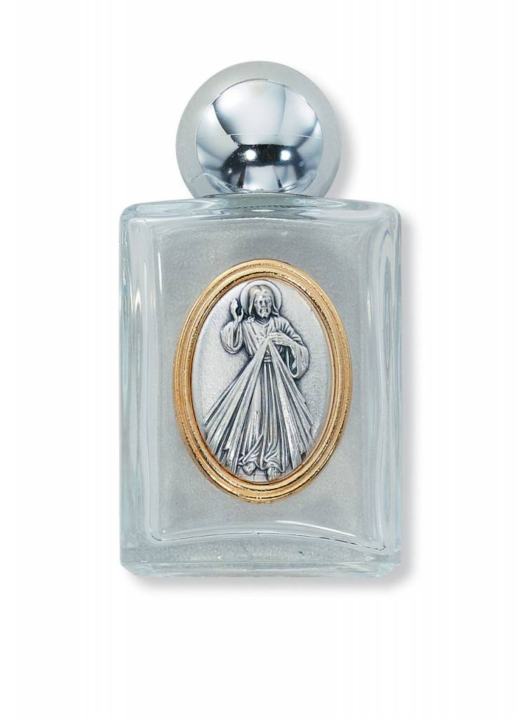 McVan Divine Mercy Glass Holy Water Bottle