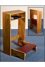 Robert Smith Folding Kneeler - Oak Finish