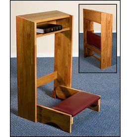 Robert Smith Folding Kneeler - Oak Finish