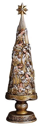 """Avalon Gallery 20.75"""" Nativity Tree"""