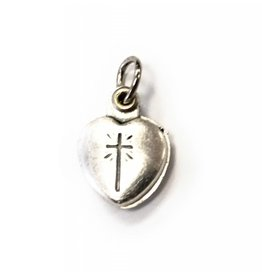 Religious Art Inc Agnus Dei Heart Locket Pendant