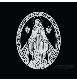 CatholiCar Miraculous Medal Decal