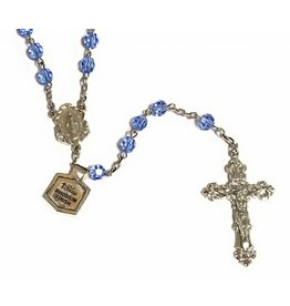 Bliss Manufacturing 6mm Saphire Rosary