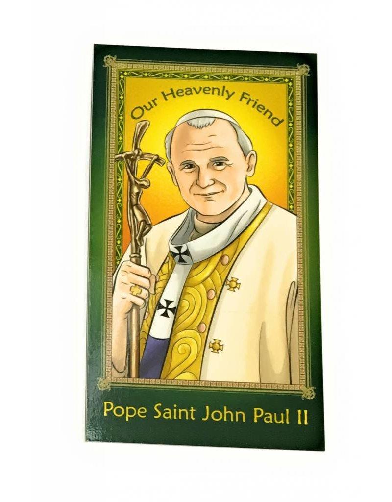 Herald Entertainment Pope Saint John Paul II Children's Prayer Card
