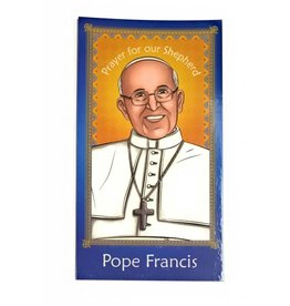Herald Entertainment Pope Francis Children's Prayer Card