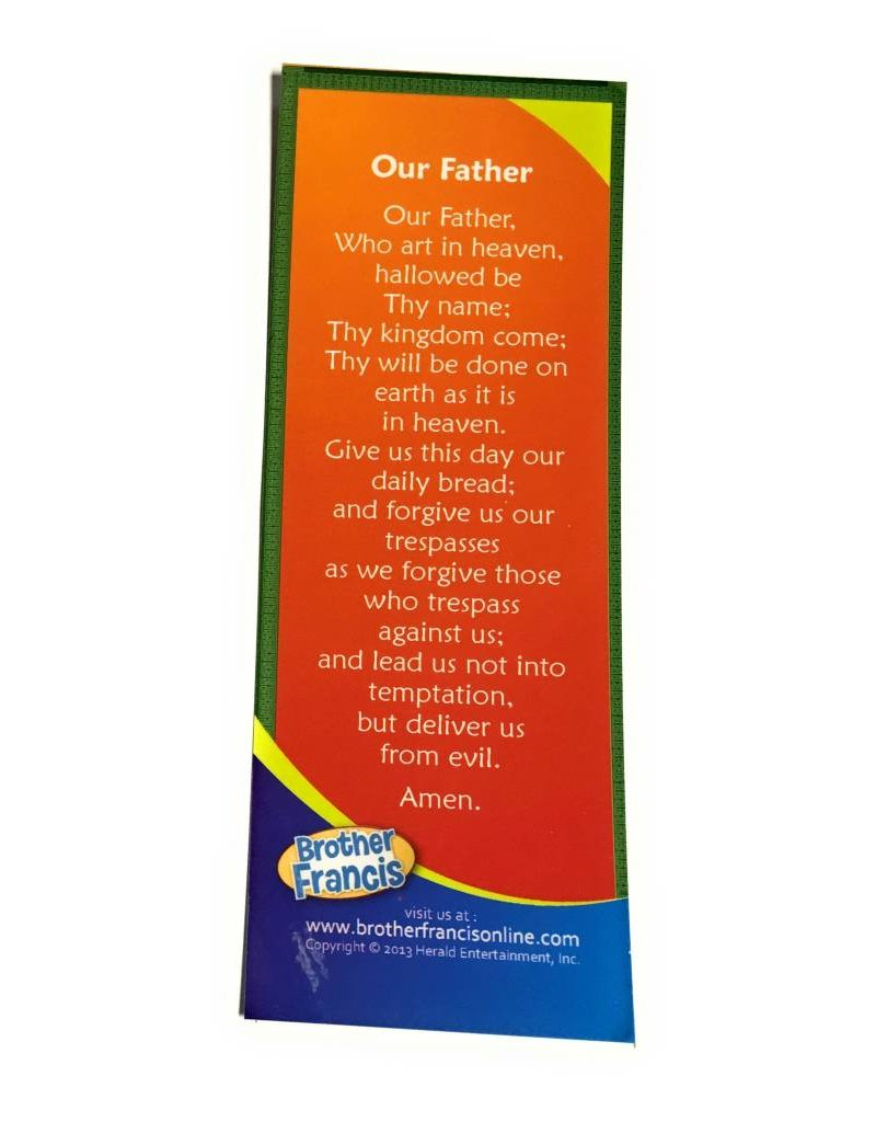 Herald Entertainment Our Father Bookmark Brother Francis