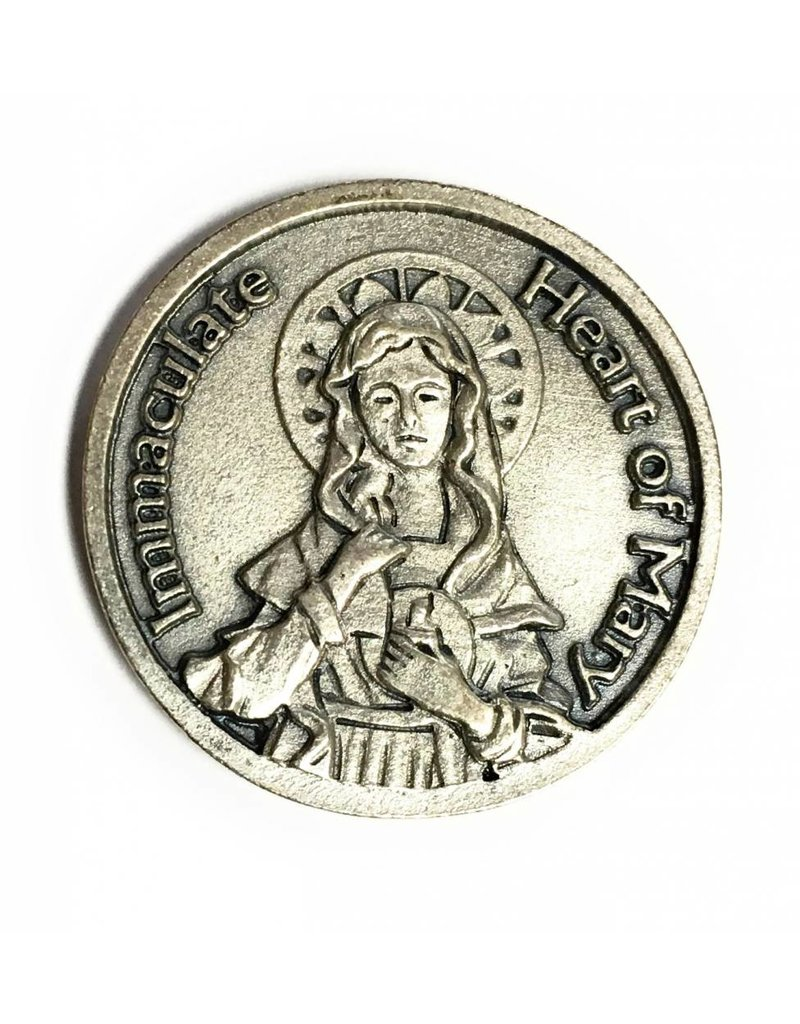 Lumen Mundi Immaculate Heart Pocket Token
