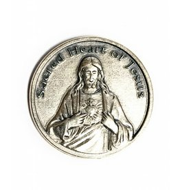 Lumen Mundi Sacred Heart Pocket Token