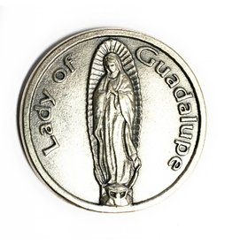 Lumen Mundi Our Lady of Guadalupe Pocket Token