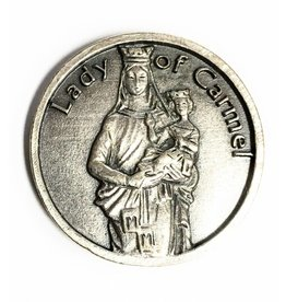 Lumen Mundi Our Lady of Mt. Carmel Pocket Token